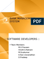 Bank Management System Project