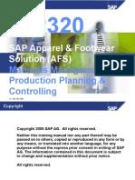 00 ICP320 SAP AFS Preface