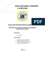 Informe de Pruebas Biológicas 2012 - II