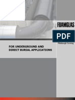 FOAM GLASS UG Piping Insulation Underground Brochure