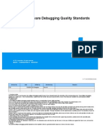 ZTE BSC Software Debugging Quality Standards_R1.0