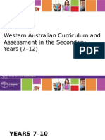ceo presentation roadshow 2015 - western australian curriculum and assessment in the secondary years (7-12) (2)