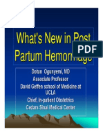 Post Partum Hemorrhage Med Students 85768