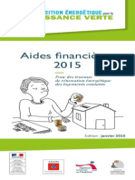 Guide Ademe Aides Financieres 2015