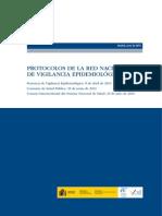 PROTOCOLOS DE LA RED NACIONAL DE VIGILANCIA EPIDEMIOLÓGICA