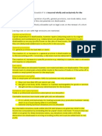 ACA Principles of Tax Expenses Notes