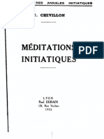 Meditations Initiatiques