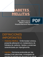 Diabetes Etiologia y Diagnostico