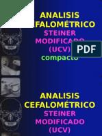 ANALISIS CEFALOMÉTRICO UCV
