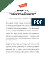 ANEXO TÈCNICO LEY PROTECCIÒN BORGE