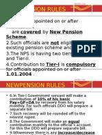 6.New Pension Scheme