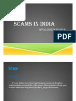 Economic Scams in India