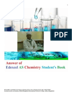 Answer of Edexcel as Chemistry Student's Book