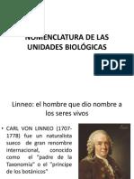 Unidades Biológicas