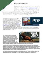 Trucos, Guías Y Códigos Para GTA cinco