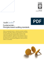 AuditQualityQa Fundamentals – Principles-based Auditing Standards