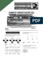 Sute Región Lima 2013 - 1