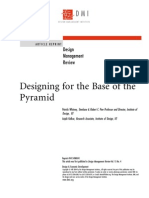 Design for the Base of the Pyramid