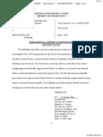 Osborne v. Menu Foods Inc - Document No. 8
