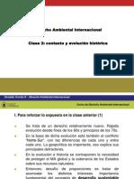 Evolucion Historica del derecho ambiental internacional
