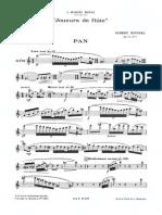A.roussel Joueurs de Flute Op.27
