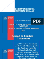 Charla Seremi de Salud-Residuos Industriales y Peligrosos 28-05-2015