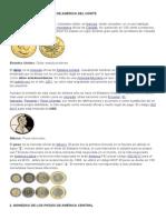 monedas de amaerica del norte ..............................