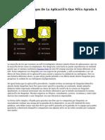 Snapchat, Los Riesgos De La Aplicación Que Más Agrada A Los