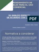 Avaluo Locales Comerciales de Acuerdo Con La Ley.