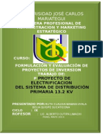 Proyecto de Inversion UJCM