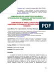 Comparación Del Morfotipo Raquídeo Piragüistas y Corredores