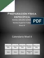PREPARACIÓN FÍSICA ESPECÍFICA