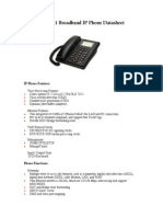 Manual KASDA KT101 Ip Telephone