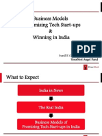 Business Model of Promising Tech Start Ups and Winning in India by YourNest 260514
