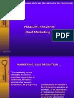 Produits Innovants Quel Marketing ?