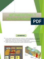 Presentacion Metamorfosis y Rocas Metamorficas