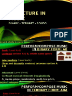 Structure in Music