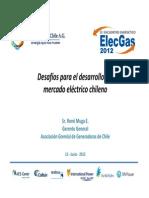 desafios para el desarrollo del mercado electrico chileno