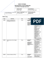 STRUCTURED Field Experience Log spr15.docx
