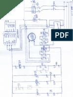 Diagrama multifilar de instalação do freio eletromagnetico EMH FDE