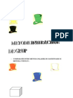 COMPARATIE INTRE METODA PALARIILOR GANDITOARE SI METODA CUBULU.doc
