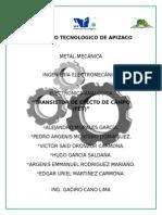 Transistor de Efecto Campo (FET) Trabajo