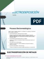 Electrode Posicion