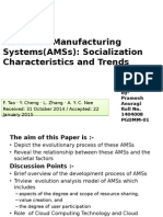 Advance Manufacturing Systems