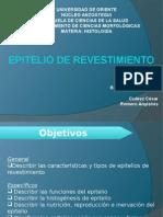 Diapositivas Para Seminario Del Grupo 1 - Epitelio de Revestimiento - Día Jueves