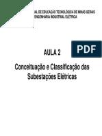 Conceituação e Classificação Das Subestações Elétricas