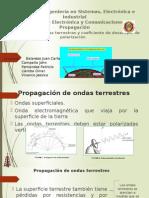 ONDAS TERRESTRES Y COEFICIENTE DE DESACOPLO DE POLARIZACION