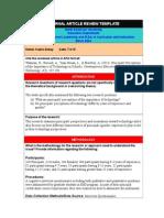 educ 5321-article review - kubra akbay