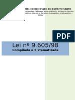 Lei 9.605-98 - Compilada e Sistematizada.doc