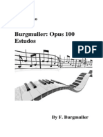 Burgmuller-opus100 Para Piano